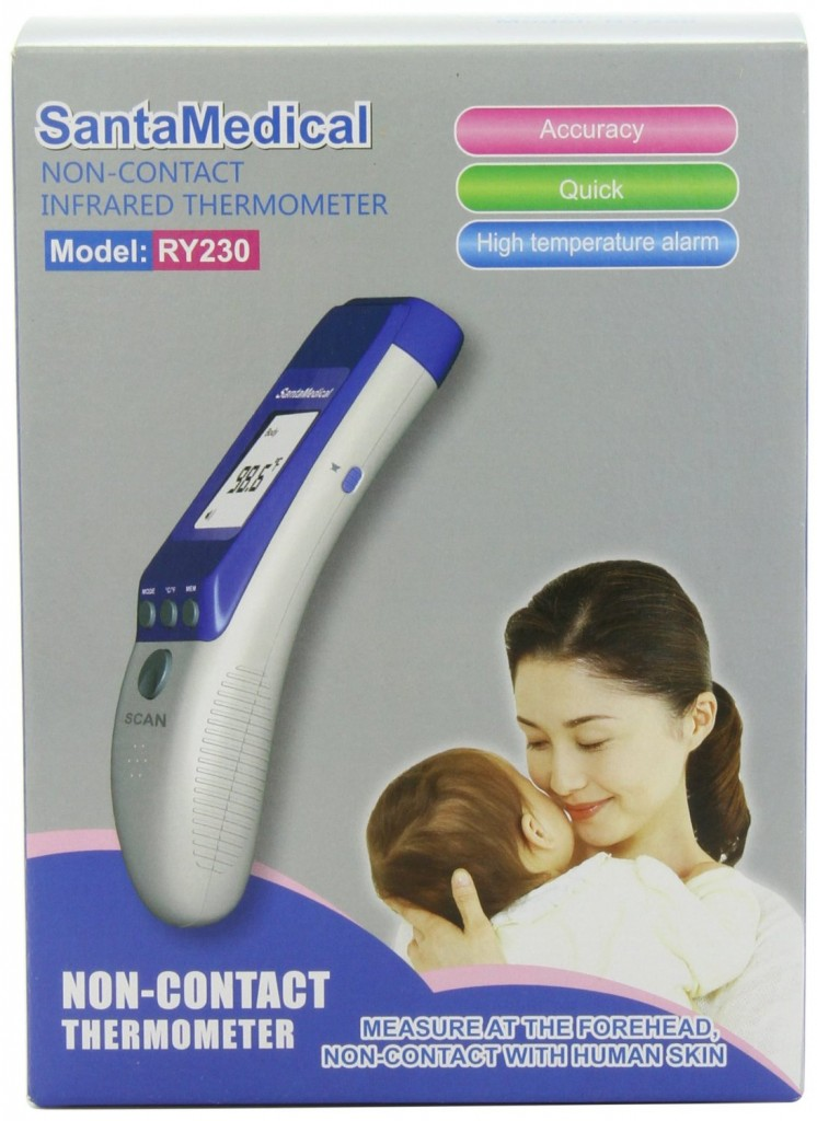 Santamedical 2 in 1 Professional Clinical RY230 Thermometer