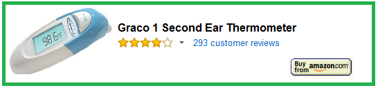 Graco 1 Second Ear Thermometer