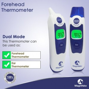 Magnifeko Digital Forehead and Ear Dual Mode a Thermometer